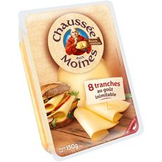 CHAUSSEE AUX MOINES Fromage en tranche 8 tranches 150g