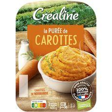 CREALINE Purée de carotte fraîche 2x200g