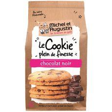 MICHEL ET AUGUSTIN Cookies super fins et croustillants éclats de chocolat noir 10 biscuits 140g