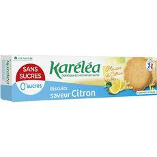 KARELEA Biscuits saveur citron sans sucres 132g