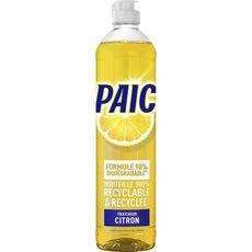 PAIC Liquide vaisselle mains au citron 550ml