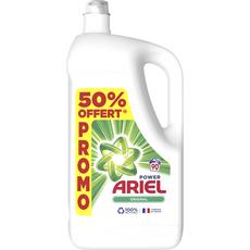 ARIEL Lessive liquide original 90 lavages 4,95l dont 50% offert