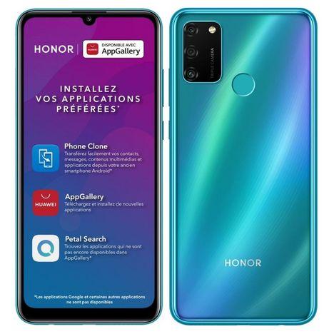 HONOR Smartphone 9A  64 Go  6.3 pouces Bleu 4G  Double NanoSIM