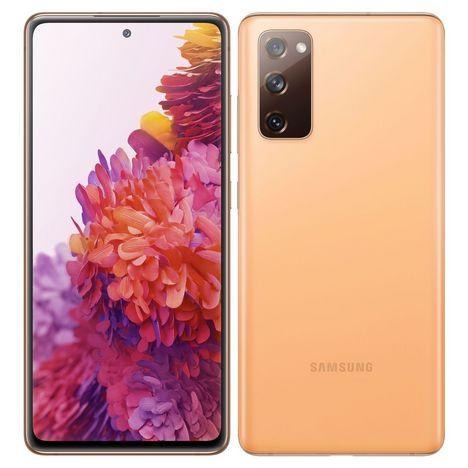 SAMSUNG Smartphone Galaxy S20 FE 5G 128 Go  6.5 pouces Orange Double Sim