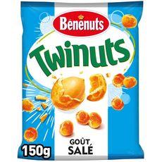 Bénénuts BENENUTS Twinuts cacahuètes enrobées goût salé