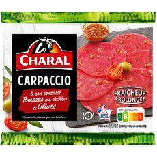 CHARAL Carpaccio confit de tomates mi-séchées et olives 2 personnes 230g