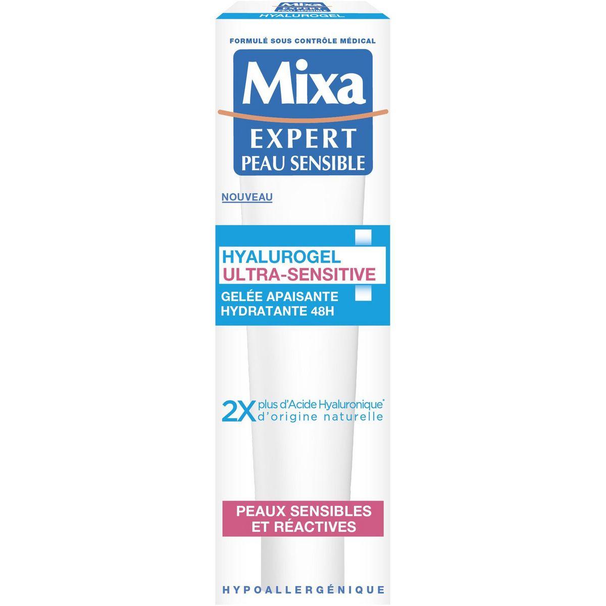 Mixa Gelée apaisante hydratante hyalurogel peaux sensibles, réactives 40ml