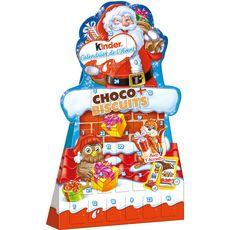 KINDER Kinder Calendrier de l'Avent chocolat et biscuits 210g 210g