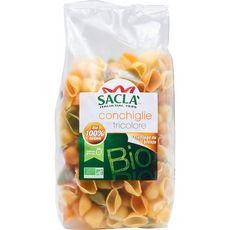 SACLA Conchiglie tricolore bio 500g