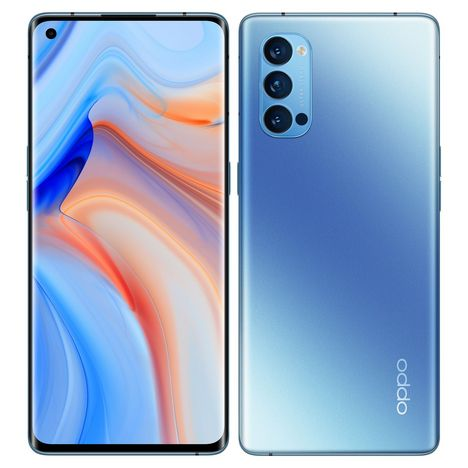 OPPO Smartphone Reno4 Pro 256 Go 5G  6.5 pouces Bleu Double NanoSim