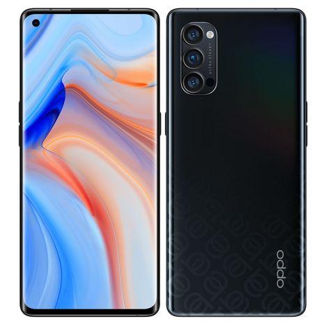 OPPO Smartphone Reno4 Pro 256 Go 5G  6.5 pouces Noir Double NanoSim