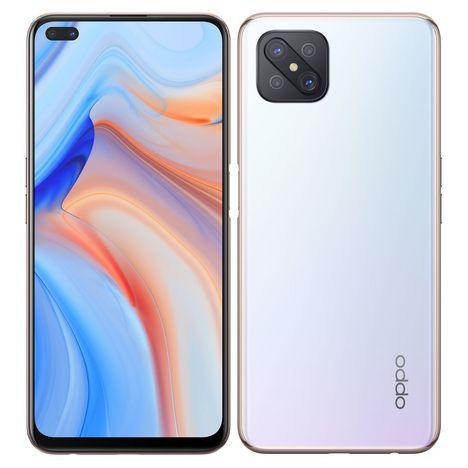 OPPO Smartphone Reno4 Z  128 Go 5G  6.57 pouces Blanc Double NanoSim