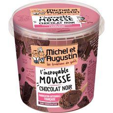 MICHEL ET AUGUSTIN Mousse au chocolat noir 500ml