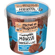 MICHEL ET AUGUSTIN Mousse au chocolat au lait 500ml