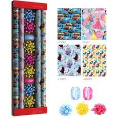 Kit papier cadeau Noël + accessoires Disney 1 pièce