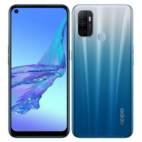 OPPO Smartphone A53S  128 Go 4G  6.5 pouces Bleu Double NanoSim