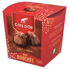 COTE D'OR Mini Bouchées chocolat au lait 21 pièces 197g