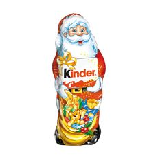 KINDER Père Noël en chocolat 160g