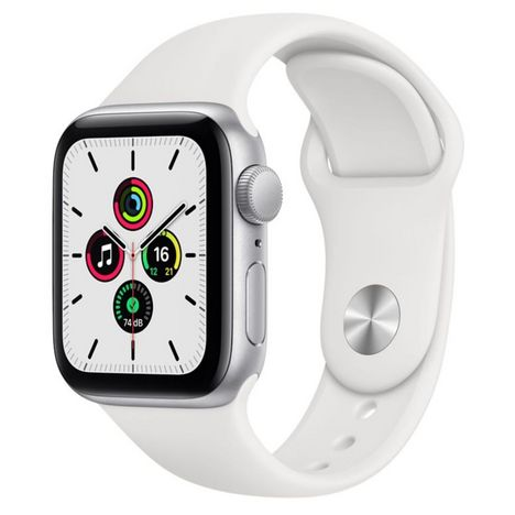 APPLE Montre connectée Apple Watch SE 40MM Alu Argent/Blanc