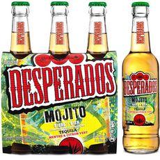 DESPERADOS Bière aromatisée tequila mojito 5,9% bouteilles 3x33ccl