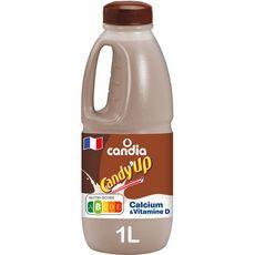 CANDY'UP Lait arômatisé au chocolat UHT 1L