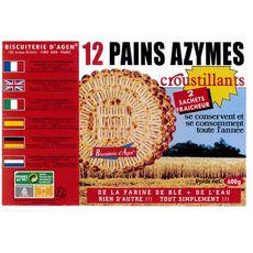 BISCUITERIE D'AGEN Pains azymes croustillants 2x6 toasts 600g