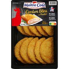 MAITRE COQ Cordon bleu de poulet 10 pièces 1kg