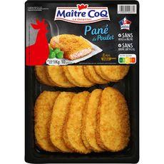 MAITRE COQ Panés au poulet 10 pièces 1kg