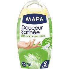 MAPA Gants fins douceur satinée taille S 6-6,5 10 gants