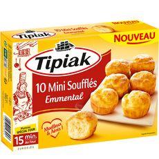 TIPIAK Mini Soufflé emmental 10 pièces 125g
