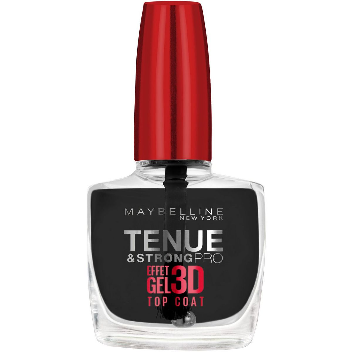 Gemey Maybelline Tenue Strong Pro vernis à ongles top coat effet gel 10ml