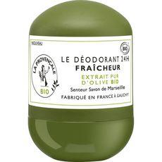 LA PROVENCALE BIO Déodorant bille 24h bio fraîcheur savon Marseille 50ml