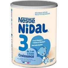 Nestlé NESTLE Nidal 3 lait de croissance en poudre dès 12 mois
