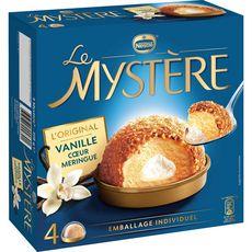 NESTLE Mystère vanille cœur meringue 4 pièces 308g