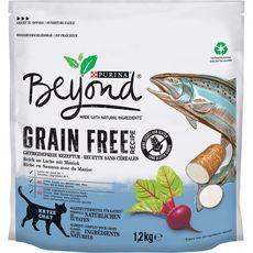 BEYOND Croquettes grain free saumon manioc pour chat 1,2kg