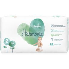 PAMPERS Harmonie couches taille 2 (4-8kg) 39 couches
