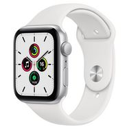 APPLE Montre connectée Apple Watch SE 44MM Alu Argent/Blanc
