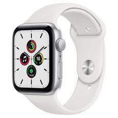 APPLE Montre connectée Apple Watch SE 44MM Alu Argent/Blanc