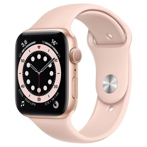 APPLE Montre connectée Apple Watch 44MM Alu Or/Rose Series 6