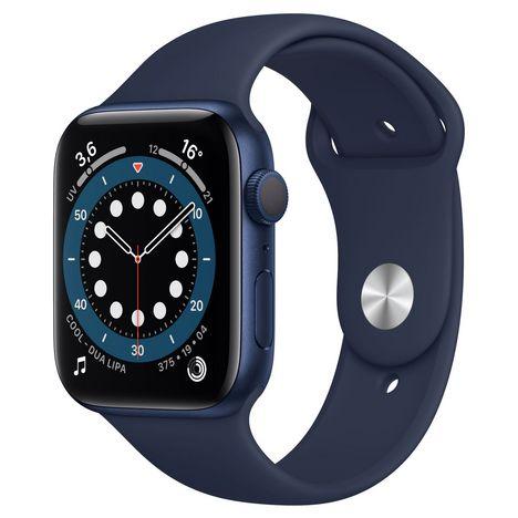 APPLE Montre connectée Apple Watch 44MM Alu Bleu Series 6