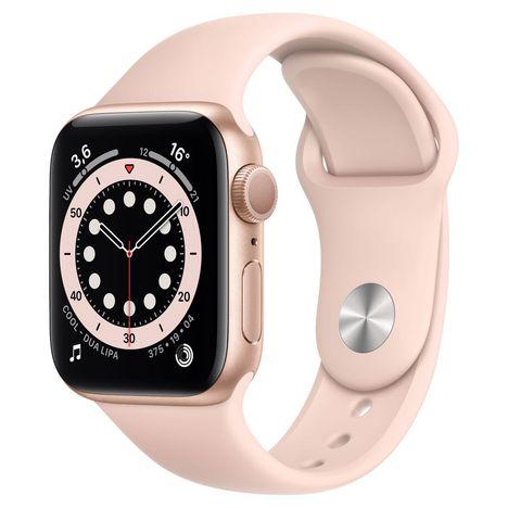 APPLE Montre connectée Apple Watch 40MM Alu Or/Rose Series 6