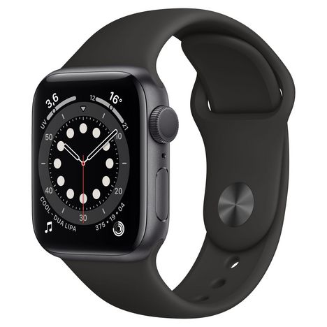 APPLE Montre connectée Apple Watch 40MM Alu Gris Series 6
