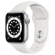 APPLE Montre connectée Apple Watch 40MM Alu Argent/Blanc Series 6