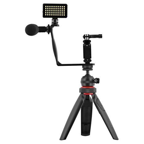 TNB Pack d'accessoires vlogger pour smartphone et caméra sport