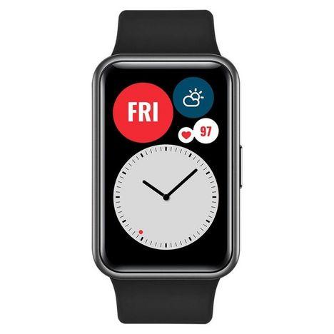 HUAWEI Montre connectée Watch Fit - Noir