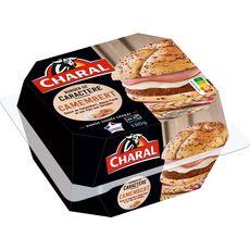 CHARAL Charal Le Burger de Caractère pain céréales camembert bacon fumé 180g 180g