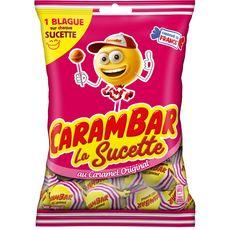 Carambar CARAMBAR La Sucette au caramel original