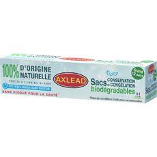 AXLEAD Sacs congélation biodégradable grand modèle 8l 12 sacs