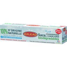 AXLEAD Sacs congélation biodégradable moyen modèle 4l 20 sacs