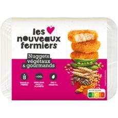LES NOUVEAUX FERMIERS Nuggets végétaux et gourmands 210g
